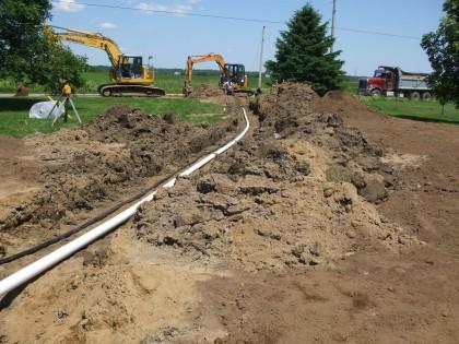 Projet d'installation septique 2014 – 003