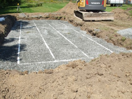 Projet d'installation septique 2014 – 006