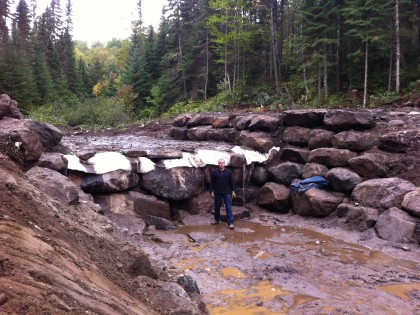 Cascades artificielles